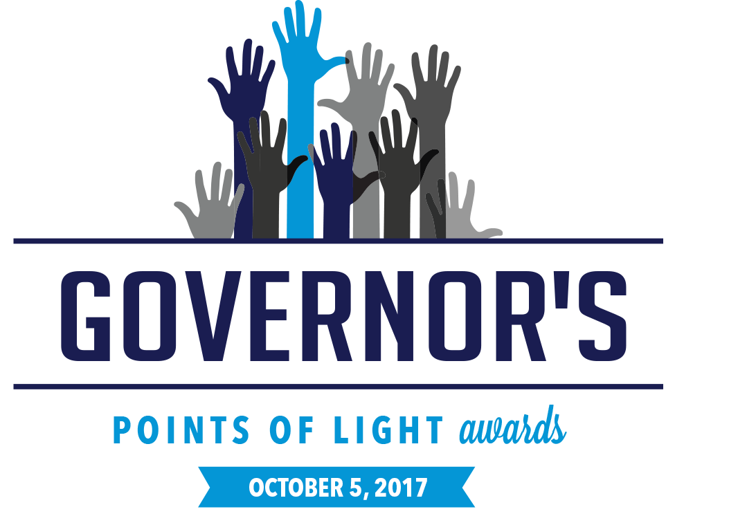 Governor's Points of Light Logo 2017