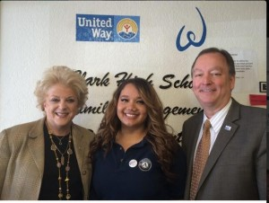 City of Las Vegas understands the importance of service.  Mayor Goodman proclaimed April 1st as National Service Recognition Day. (Photo with Mayor Goodman, United Way of Southern Nevada CEO Cass Palmer, and AmeriCorps member.)